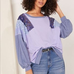 Free People Feelin It Top NWT Small